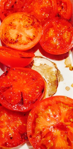 Tomates Plancha