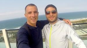 Guillermo Sánchez y yo