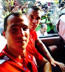 Con Nico Vélez